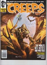 THE CREEPS MAGAZINE ISSUE #14 ILLUSTRATED HORROR SUMMER 2018