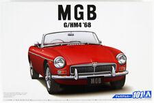 Aoshima 56851 The Model Car 101 BLMC G/HM4 MG-B MK-2 1968 1/24 Scale kit