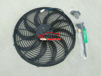 """16"""" inch Universal Curved Slim Fan Push/Pull Electric Radiator Cooling Engine"""