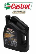 Castrol Edge 0W-40 Fully Synthetic European Formula Engine Motor Oil 5 Quarts