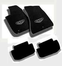 NEW! FLOOR MATS 2004 PONTIAC GTO CREST Embroidered Logo & Premium Vinyl Edge Set