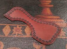 Leather Acoustic Guitar Pickguard - Guild Acoustic Guitar - Hand tooled carving