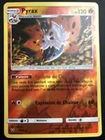Carte Pokemon PYRAX 13/73 Reverse Soleil et Lune 3,5 SL3.5 FR NEUF
