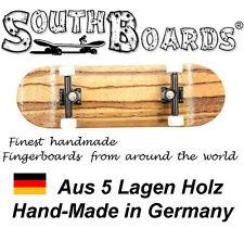 Komplett Holz Fingerskateboard TI/SWZ/WS SOUTHBOARDS® Handmade Wood Fingerboard