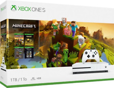 Microsoft Xbox One S Brand New Sealed 1TB White Console w/ Minecraft Bundle