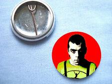 Ian Dury 25mm Badge Blockheads Gene Vincent The Clash Kilburn and the High Roads