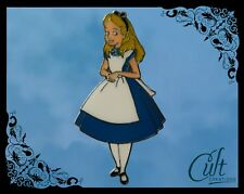 Alice in Wonderland metal and enamel Pin Badge Pins with Alice.
