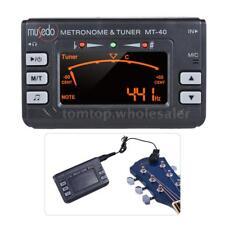 3-in-1 Metronome Tuner Tone Generator for Guitar Bass Violin Ukelele LCD K2B2