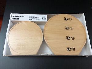 New IKEA Sammanhang BEECH WOOD DISPLAY SHELF SET  Aaron Probyn Design 904.123.13