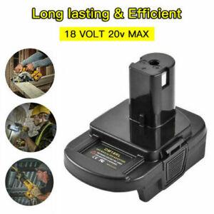 Battery Adapter for DEWALT Milwaukee Converter to RYOBI 18V Cordless Plug Tools