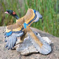 Realistic Archaeopteryx Bird Dinosaur Figure Kids Toy Pre-History Animal Model