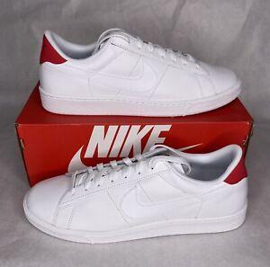 Nike Tennis Classics CS (683613-113) Men's Size 10.5 White/White-University Red