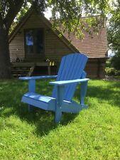 bespoke handcrafted Adirondack Chair Outdoor Wooden Garden Patio Furniture