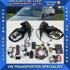 VW T5 Manual To Electric Heated Power Fold & Electric Window Kit Upgrade NEW