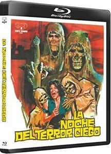 Tombs of the Blind Dead Blu Ray Gabita Barbieri Amando de Ossorio Spanish Horror
