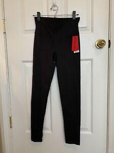 Spanx Compression Close-Fit Black Pant Sz. Large -NWT