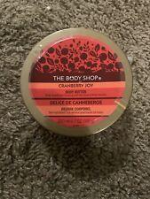 Retired The Body Shop Cranberry Joy Body Butter 6.7 Oz 98% FreeSHIP Lotion 200ML
