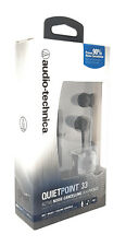 Audio Technica ATH-ANC33iS QuietPoint Active Noise-Cancelling In-Ear Headphones