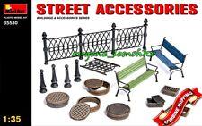 Miniart 35530 Street Accessories (Building And Accessories) Plastic Kit 1/35