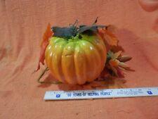 Halloween Fall Autumn Artificial Pumpkin Leaves Floral Centerpiece Decoration