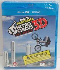 Nitro Circus The Movie Blu-ray 3D + Blu ray DVD ( Travis Pastrana ) - NEW
