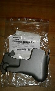 PORSCHE 911 2012-15 SEAT BACK COVER TRIM IN SILVER GREY 99152133800D20