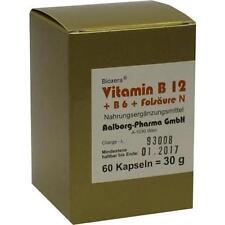 VITAMIN B12 + B6 + Folsaeure Komplex N Kapseln 60St 93071