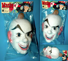 HORROR CLOWN MASQUE CÉSAR cesar FRANCE 70s FASCHINGSMASKE KARNEVAL HOLLOWEEN OVP