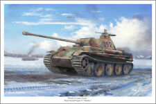 "Panther Tank Mark Karvon Military Art Print 16"" x 24"""