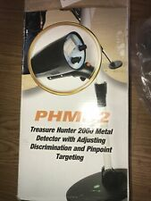 Pyle Phmd2 Treasure Hunter 2000 Metal Detector - New In Box