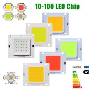LED chip 10w 20w 30w 50w 100w RGB cob fixture blue light floodlight DC 12V 36V
