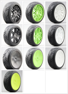 4pcs 1/8 Buggy On Road Tyre Tire Ninjia Nylon Wheel Fits For 1/8 Buggy GT XO-1