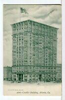 The CANDLER BUILDING, 127 Peach St., Atlanta, GA 1901 - 1907 UDB Postcard