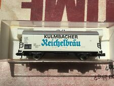 """Fleischmann N 8326 Kühlwagen """"Kulmbacher Reichelbräu"""" DB TOP in OVP"""