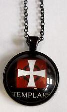 Halskette Templerkreuz Tempelritter Necklace Knights Templar x