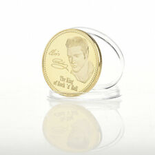 The King of Rock 'n' Roll Elvis Presley The King-Gedenkmünzen·