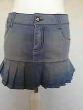 Lambretta Denim Plisado Mini falda talla 12