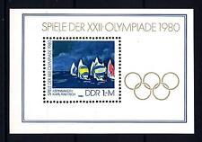 GERMANY - GERMANIA - DDR - BF - 1980 - Giochi olimpici di Mosca