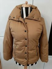 """Blue Willi's Casual Ladies Duck Down Coat  Jacket Size S 21"""" Pit to Pit Mustard"""