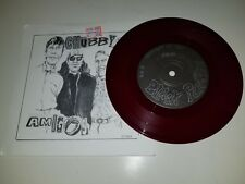 """CHUBBY AMIGOS Free Falling Faster / Break the Law - RED  45 VINYL 7"""" RECORD"""