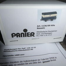 Panier 1130/09 H0e Bausatz Pack-Postwagen der MEG Mittelbadischen Eisenbahn, OVP