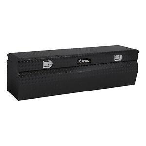 "UWS Gloss Black Aluminum 60"" Wedge Utility Chest Box X TBC-60-W-BLK"