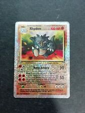 Pokémon - Rhydon - reverse - Legendary Collection
