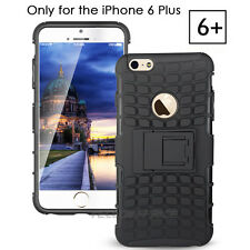 iPhone 6 Plus Case,Tough Armorbox Dual Layer Hybrid Hard/Soft Protective Stand