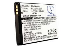 New Battery for Creative BA20203R79909 DAA-BA0009 Replacement Zen Micro Photo