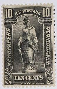 Travelstamps: US Stamps Scott # PR117 10 Cents Newspaper Stamp Mint OG VLH
