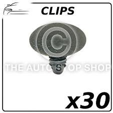 Clips Trim Parabrisas Compatible con Todo Tipo Pack Of 30 Número de Pieza 9789