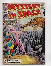MYSTERY IN SPACE 68 - VG- 3.5 - ADAM STRANGE (1961)