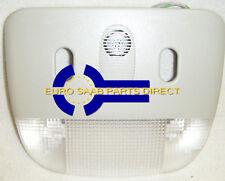 Saab 9-5 2006-2010 5D Lampe intérieure Lentille Avec Capteur vol alarme 12762884