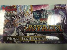 CARDFIGHT!! VANGUARD RISE TO ROYALTY MEGA TRIAL DECK VOL 1 SEALED VGE-MT01